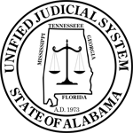 Seal of the Unified Judicial System of Alabama